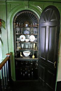 Drink cabinets in the Hall