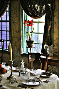 Dining Room at the House of the Seven Gables