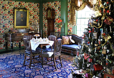 The Great Room/Hall at the House of the Seven Gables