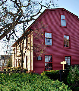 Hawthorne Birthplace at The House of the Seven Gables Historic Site