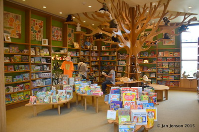 Childrens corner - Huntington Gardens gift shop