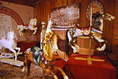 Carousel Museum Exhibit