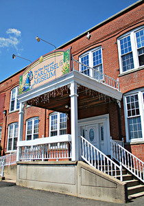 Entrance of the New England Carousel Museum