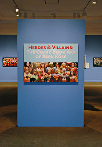 Heroes & Villains Exhibit at the Rockwell Museum