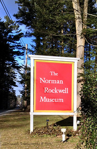 Sign for the Norman Rockwell Museum