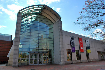Front entrance of the Peabody Essex Museum