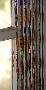 Paper Beads for the windows