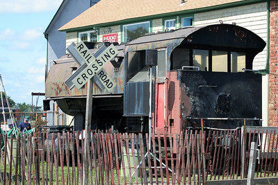 At the Long Island Railroad Museum, Riverhead, NY.
