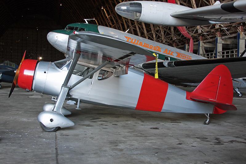 N3779C (7033) Fairchild F.24 GK-1 Argus c/n W40-171 Tillamook/KTMK/TMK 09-05-09
