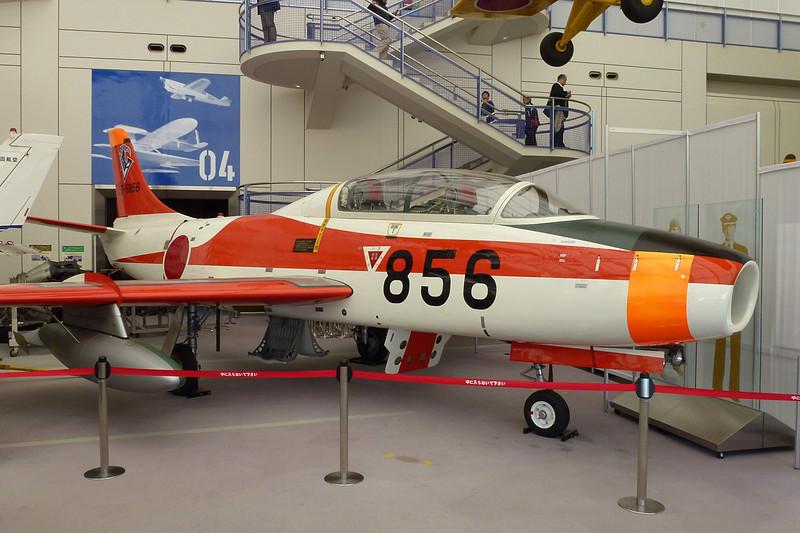 25-5856 (856) Fuji T-1B c/n 56 Tokorozawa 06-03-13