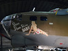Nose art on a B-17 Flying Fortress, a U.S. heavy bomber
