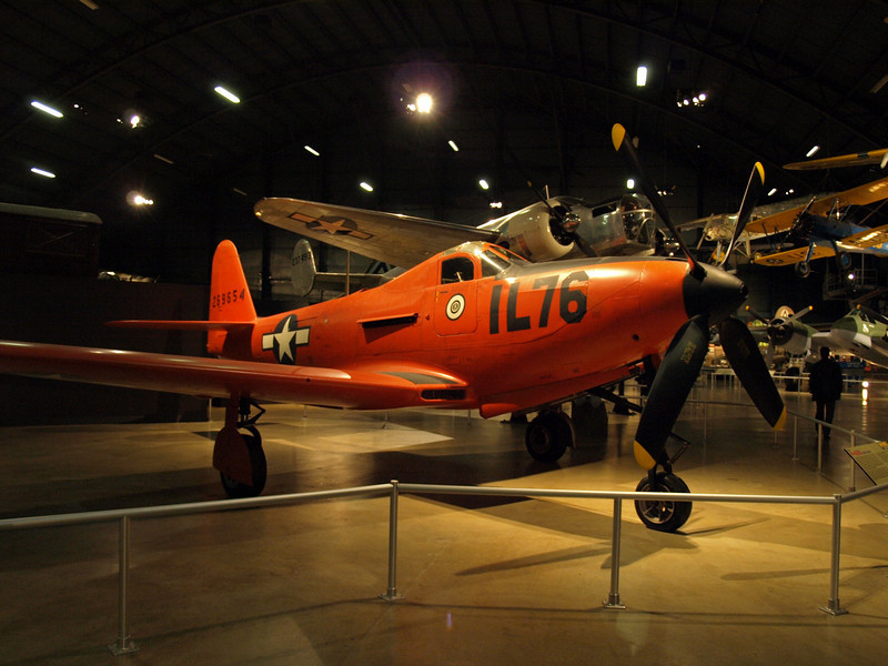 Bell P-63E King Cobra fighter; used by the Soviet and Free French air forces during WWII.  Served as a trainer for US fighter pilots.