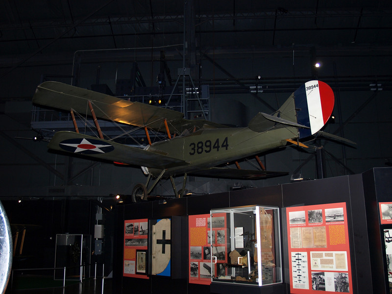 Thomas-Morse S4C Scout -- used as a trainer aircraft for U.S. pilots during World War I.