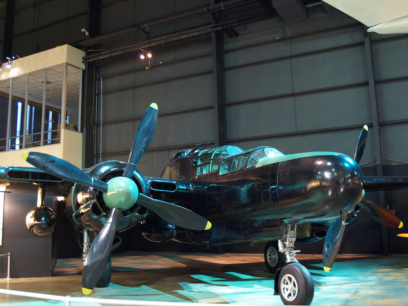 P-61 Black Widow, an American night fighter and the first US military fighter aircraft designed to accommodate on-board radar