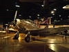 Curtiss CW-22, used as a training aircraft during World War II.  Taken at ISO 1600