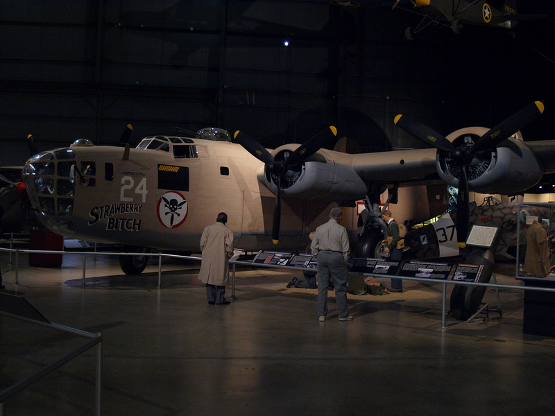 B-24 Liberator heavy bomber (most-produced military aircraft in US history; over 18,000 built between 1941 and 1945).