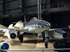 Another view of the Messerschmitt Me-262