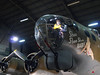 B-17 Flying Fortress nose section and front twin-gun turret