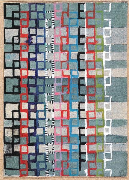 Design for a Jacquard Woven Textile