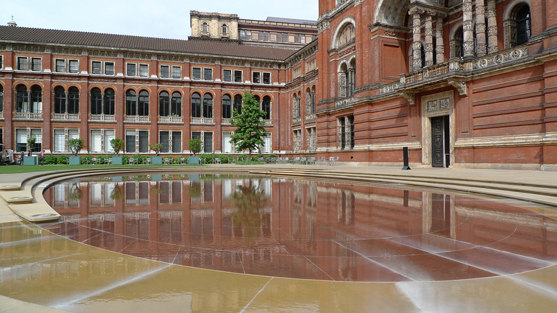 "The V&A Courtyard, also known as the John Madejski Garden  <a href=""http://www.vam.ac.uk/about_va/garden/index.html"">Click here for more information about The John Madejski Garden</a>"