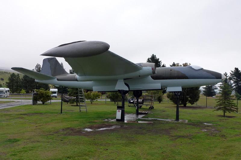 "A84-207 English Electric Canberra Mk.20 ""Royal Australian Air Force"" c/n 7 Wanaka/NZWF/WKA 24-03-12"