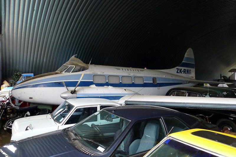 ZK-RNG (NZ1807) de Havilland DH-104 Devon C.1 c/n 04323 Wanaka/NZWF/WKA 24-03-12