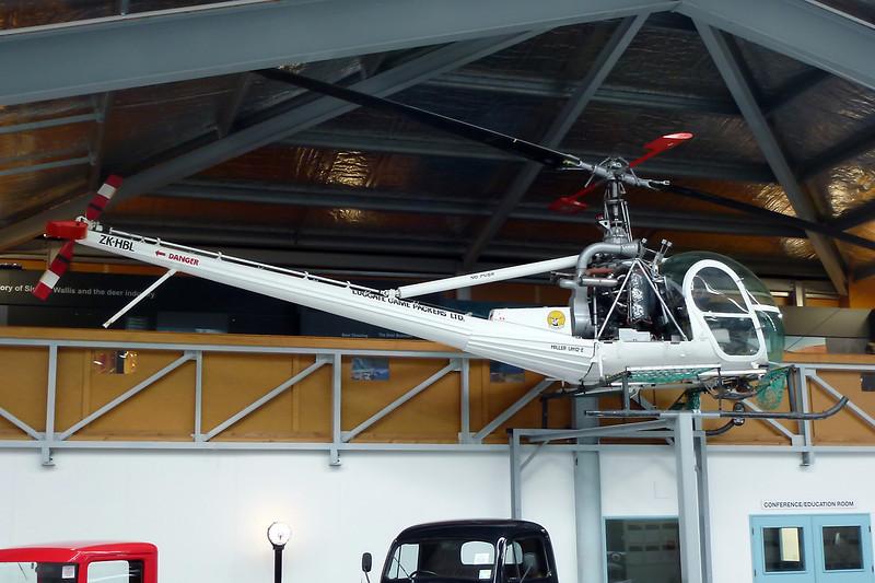 ZK-HBL Hiller UH-12E Raven c/n 2042 Wanaka/NZWF/WKA 24-03-12