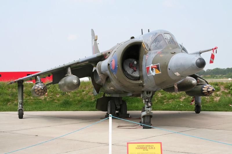 XV748 British Aerospace Harrier GR.3 c/n 712011 Elvington/EGYK 23-05-08
