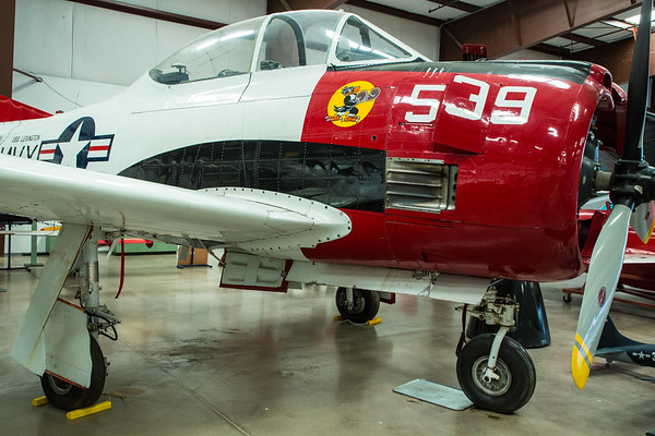 T-28C Fighter from the USS Lexington, Planes of Fame Air Museum, Valle, Arizona