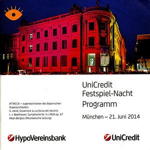 2014 - UniCredit Nacht