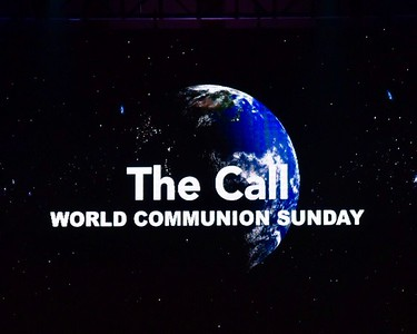 Mount Pisgah UMC 10-07-2018 Worship The Call World Communion Sunday & Baptisms