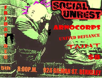 social unrest @924 gilman 12/06/2008