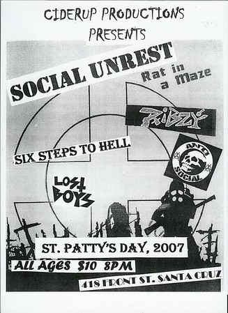 social unrest - ribzy @418 front street 03/17/2007
