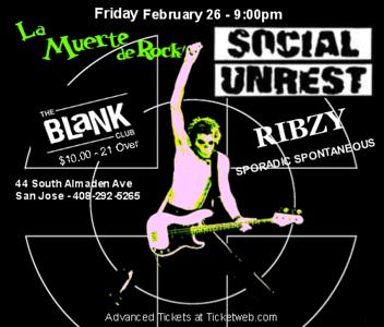social unrest - ribzy @the blank club 02/27/2010