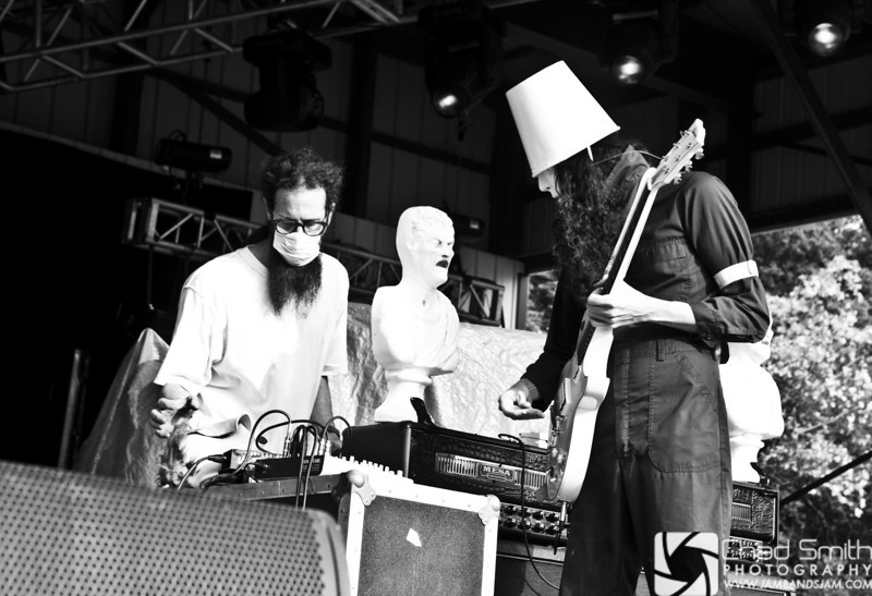 Buckethead - Starshine stage @ Summercamp 2009_1