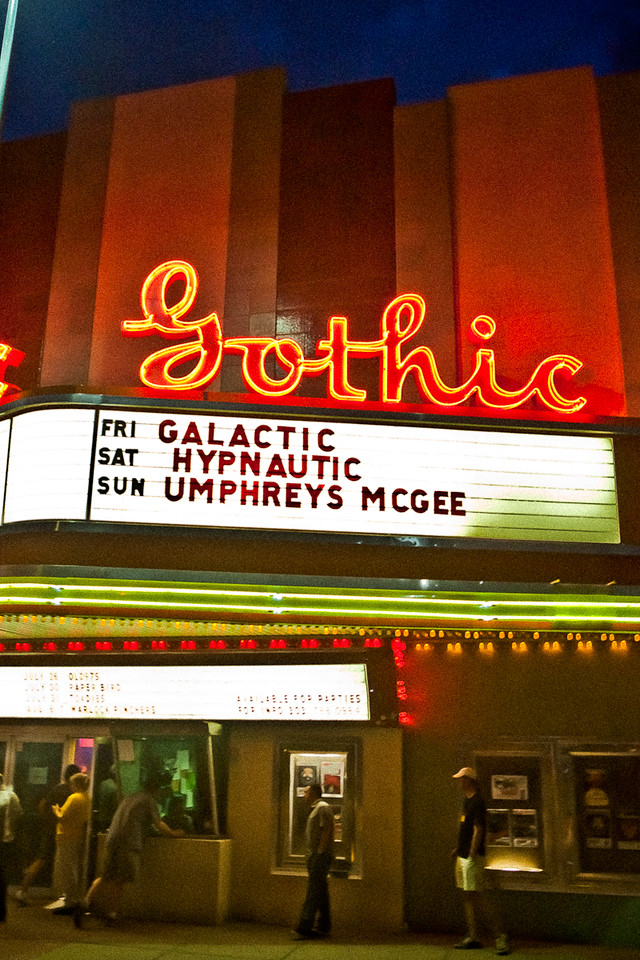 Umphrey's Mc Gee @ The Gothic