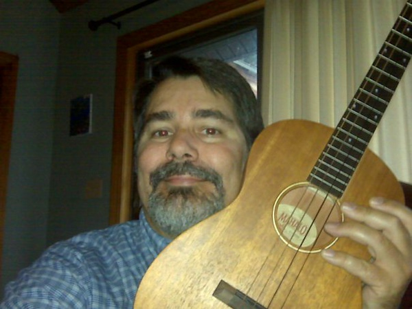 Me & my new ukulele