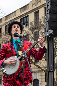 March 2019 - Marche du Nain Rouge, Detroit: Joe Alcodray