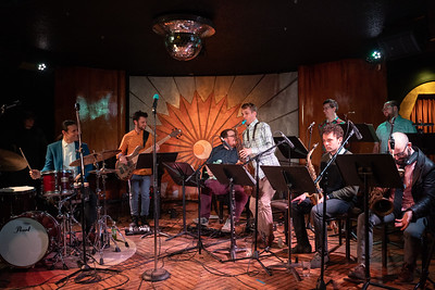 2019 May 12 - Dan Pugach Nonet, Cliff Bell's Detroit: Usaf Alcodray