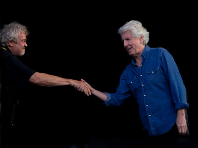 Holger Peterson and Graham Nash