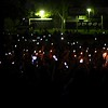 Lighters and cell phones in the air during Twisted Sister