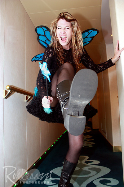 Laurie, a faerie with boots...