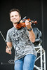 Having Fun with the Fiddle, Jeb Reinhiller with 32 Below at WeFest - Photo by Pat Bonish