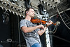 Jeb Reinhiller Making that Fiddle Sing on stage at WeFest - Photo by Pat Bonish