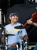 Luke Nygaard on Drums for 32 Below - WeFest 2010 - Photo by Cindy Bonish