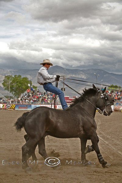 Amazing Rider @ The Bishop Mule Days, California