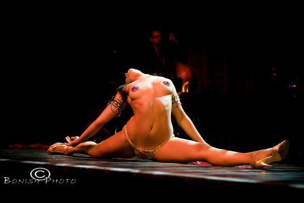 Bustout Burlesque Show - House of Blues, New Orleans 2009