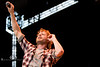 I Cant Hear You - Dierks Bentley Hamming It Up with the Crowd at WeFest - Photo by Pat Bonish