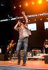 Getting Into the Music - Dierks Bentley at WeFest 2010 - Photo by Pat Bonish