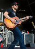 Eric Church on Guitar - WeFest 2010 - Photo by Cindy Bonish